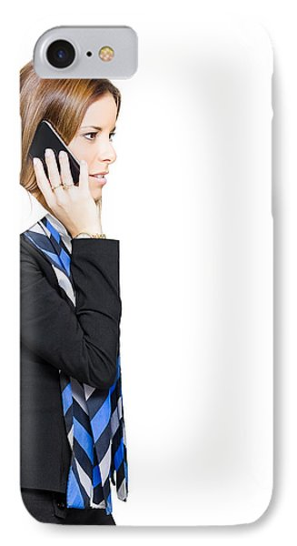 Sales And Marketing Business Woman IPhone Case by Jorgo Photography - Wall Art Gallery
