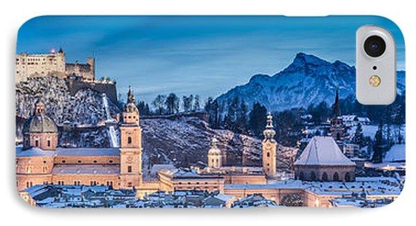 Salzburg Winter Romance IPhone Case by JR Photography