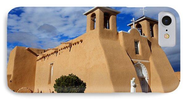 San Francisco De Asis Taos New Mexico 3 Phone Case by Bob Christopher