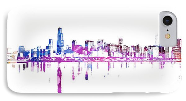 Chicago Skyline IPhone Case by Doc Braham