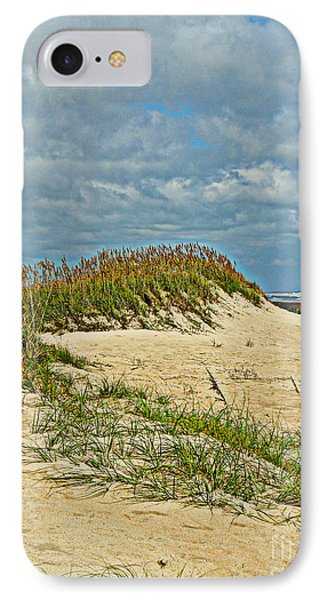 IPhone Case featuring the photograph Sand Dunes by Eve Spring