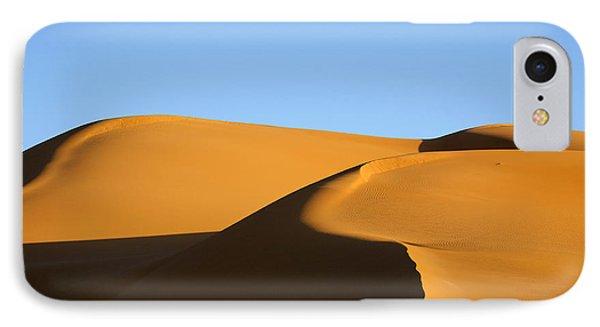 Sand Dunes Of The Sahara Desert Phone Case by Robert Preston