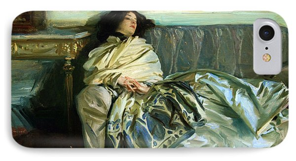 Sargent's Repose IPhone Case by Cora Wandel