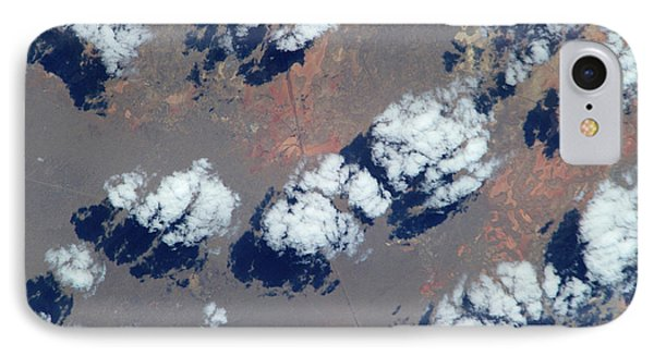 Satellite View Of Clouds IPhone Case