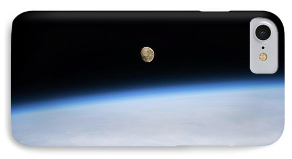 Satellite View Of Moon Over Southern IPhone Case
