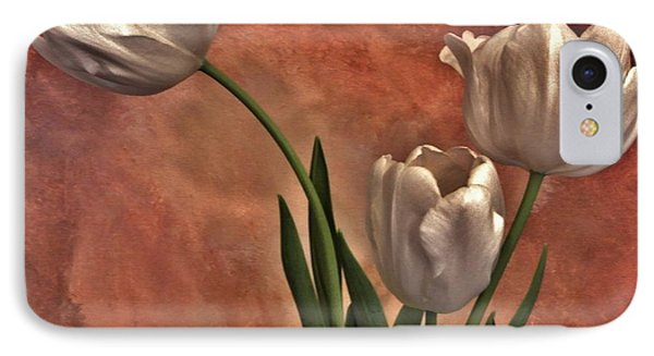 Satin Tulips IPhone Case by Marsha Heiken