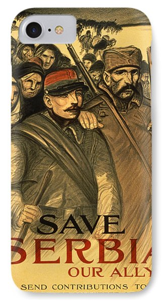 Save Serbia Our Ally IPhone Case