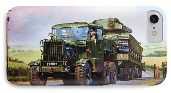 Scammell Explorer. IPhone Case