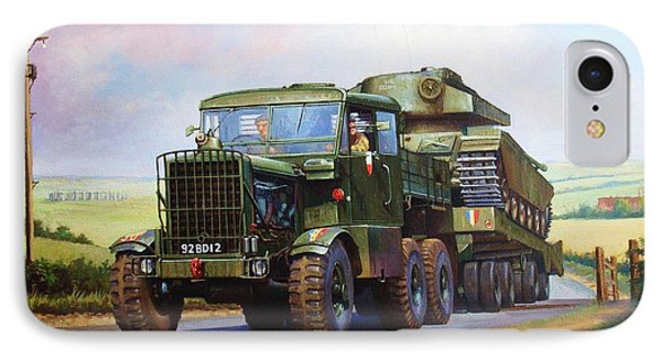 Scammell Explorer. IPhone Case by Mike  Jeffries