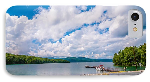 Scenery Around Lake Jocasse Gorge IPhone Case