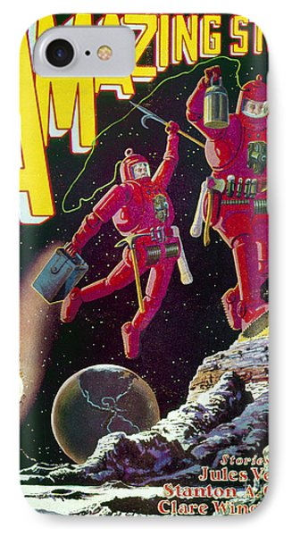 Science Fiction Cover 1929 Phone Case by Granger