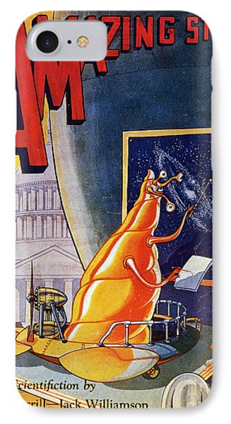 Science Fiction Cover 1930 Phone Case by Granger