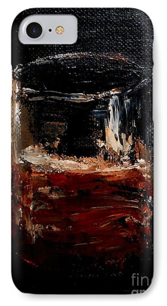 IPhone Case featuring the painting Scotch Neat by Fred Wilson