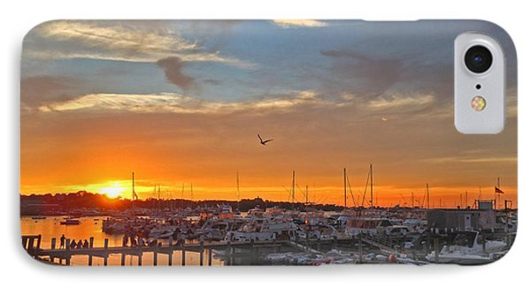 Seagull Sunset IPhone Case