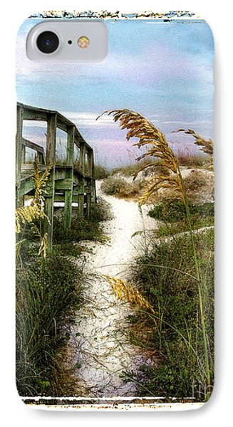 Seaoats Path IPhone Case by Linda Olsen