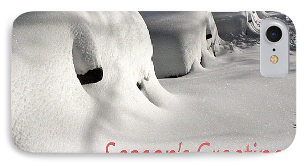 Season's Greetings IPhone Case by Stuart Litoff