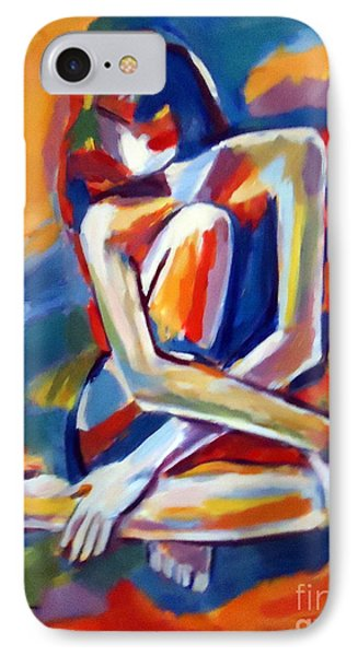 Seated Figure IPhone Case