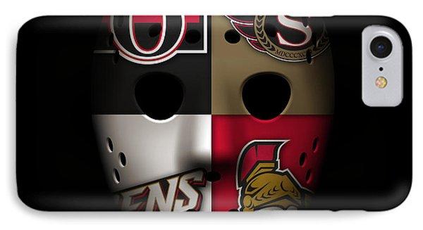 Senators Goalie Mask IPhone Case