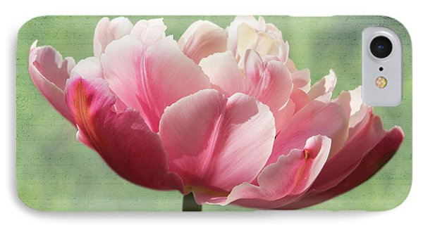 IPhone Case featuring the photograph Sending Of Flowers by Trina  Ansel