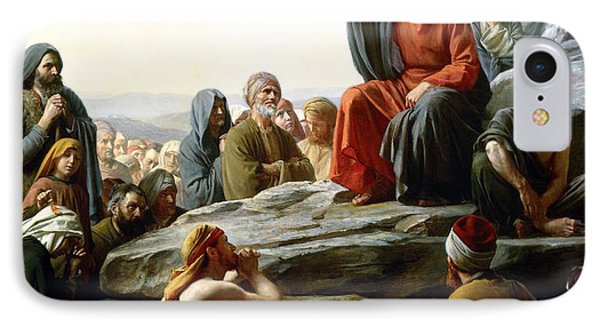 Sermon On The Mount Phone Case by Carl Bloch
