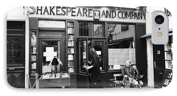 Shakespeare And Company Bookstore In Paris France IPhone Case
