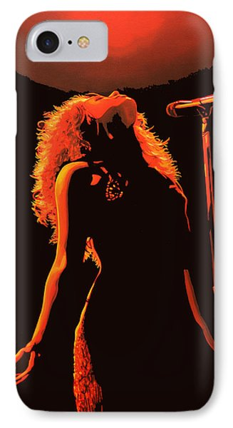Shakira IPhone 7 Case by Paul Meijering