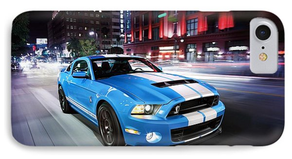 Shelby Gt IPhone Case by Art Work