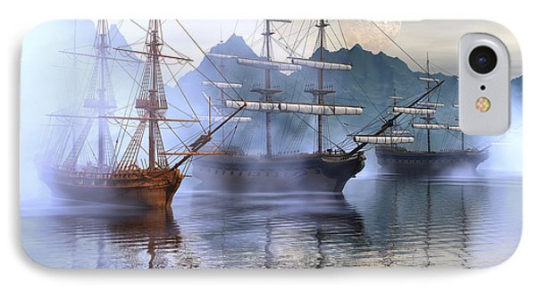 Shelter Harbor IPhone Case by Claude McCoy