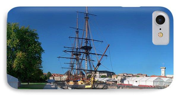 Ship Replica Of The Count De La Fayette IPhone Case