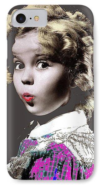 Shirley Temple Publicity Photo Circa 1935-2014 IPhone 7 Case