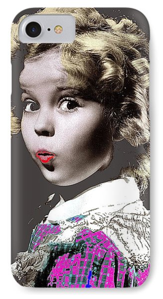 Shirley Temple Publicity Photo Circa 1935-2014 IPhone Case by David Lee Guss