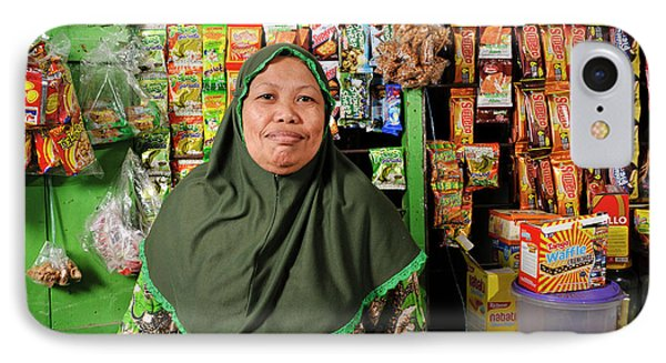 Shopkeeper With Leprosy IPhone Case by Matthew Oldfield