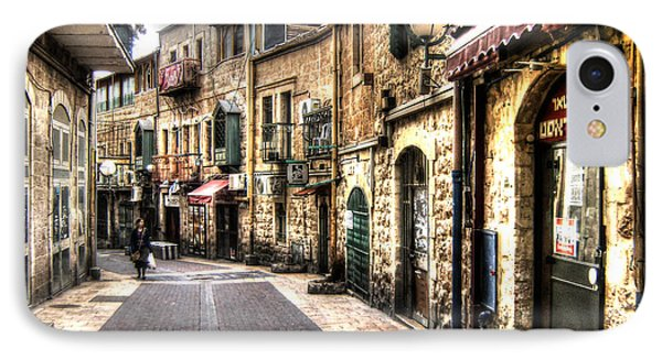 Shopping In Israel IPhone Case by Doc Braham