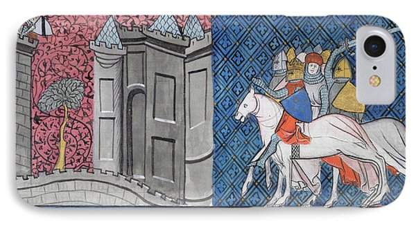 Siege Of Damascus IPhone Case by British Library