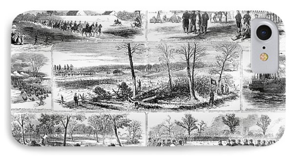 Siege Of Yorktown, 1862 IPhone Case by Granger