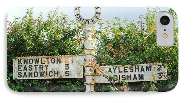 Signpost IPhone Case