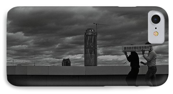 Silent Musical Work IPhone Case by Evgeniy Lankin