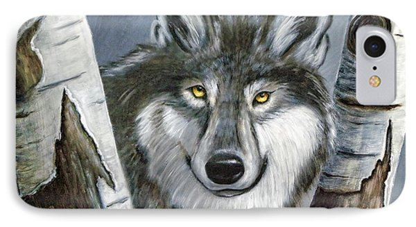 Silent Watcher IPhone Case by Kenny Francis