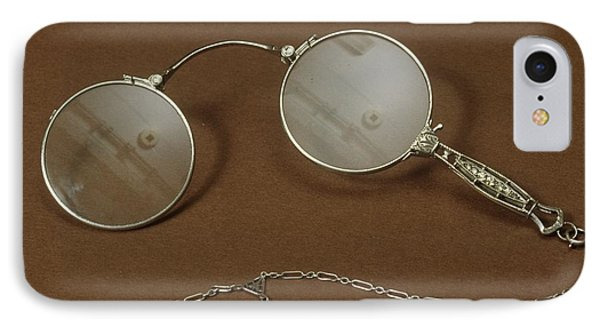 Silver Lorgnette IPhone Case by Science Photo Library