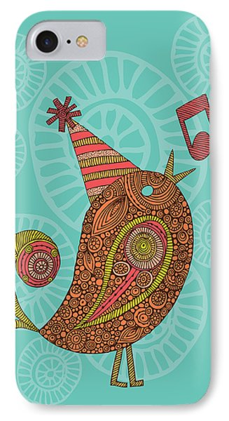 Singing Bird IPhone Case by Valentina Ramos