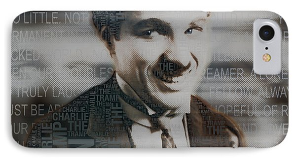 Sir Charles Spencer Charlie Chaplin Square IPhone Case