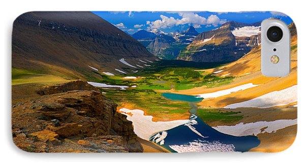 IPhone Case featuring the photograph Siyeh Pass by Aaron Whittemore