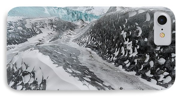 Skaftafelljokull Glacier In Vatnajokull IPhone Case by Martin Zwick