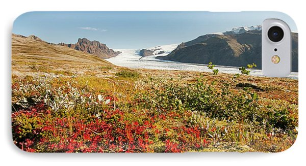 Skaftafellsjokull Glacier IPhone Case