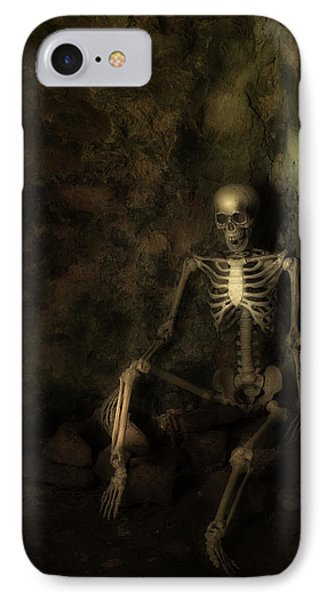 Skeleton Phone Case by Amanda Elwell