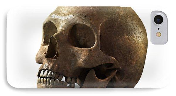 Skull IPhone Case by Vitaliy Gladkiy
