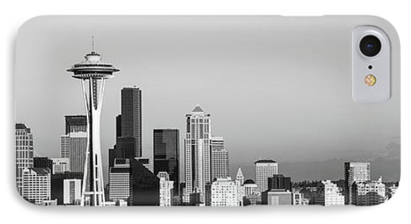 Skyline, Seattle, Washington State, Usa IPhone Case by Panoramic Images
