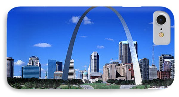 Skyline, St Louis, Mo, Usa IPhone Case by Panoramic Images