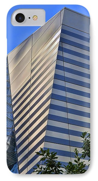 Skyscraper Abstract 4 Phone Case by Allen Beatty