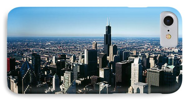 Skyscrapers In A City, Trump Tower IPhone Case by Panoramic Images
